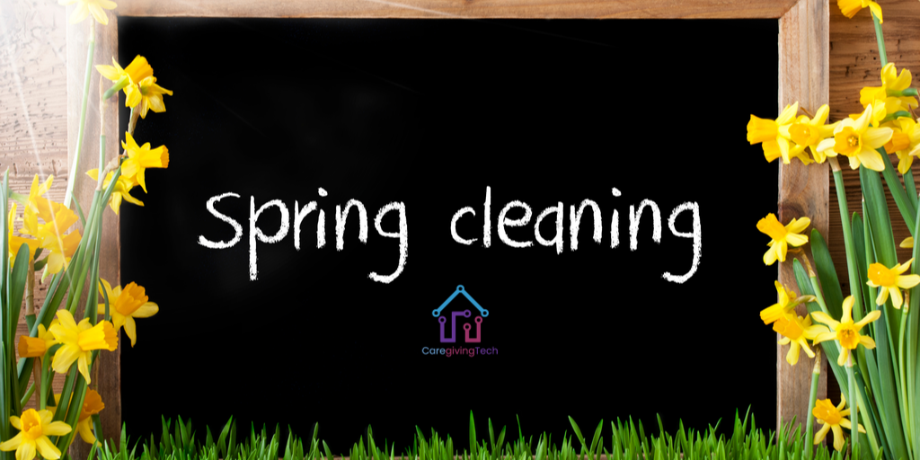 blog post Spring cleaning